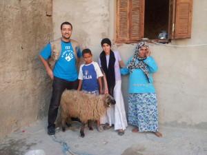 Offrande famille